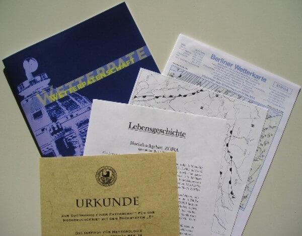 Abschlusspaket für einen Paten, @ www.wetterpate.de