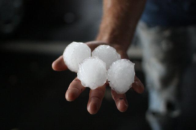 Unwetter in Spanien: Großhagel bis 10 cm
