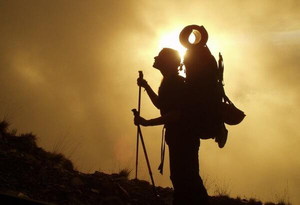Ein Hochdruckgebiet sorgt für spätsommerliches Wetter in den Bergen