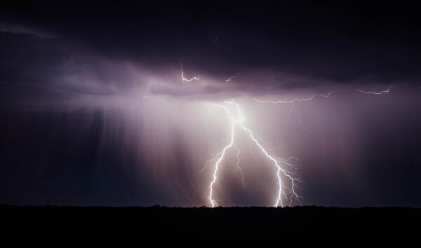 Im Süden von Österreich gibt es Gewitter