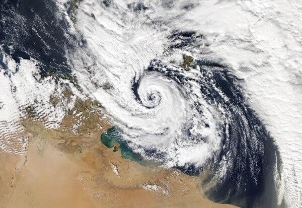 Tropische Stürme im Mittelmeer