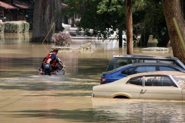 Nach der Sturzflut in Spanien