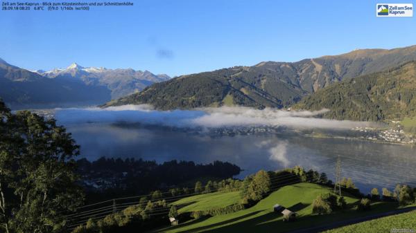 Seerauch am Zeller See