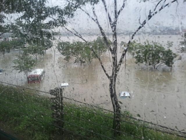 Überschwemmung in Südfrankreich