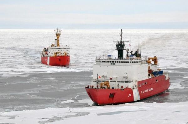 Die Eisbedeckung in der Arktis bleibt unterdurchschnittlich