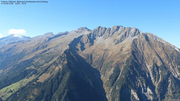 Föhnige Bedingungen in Tirol.