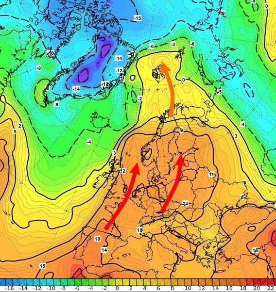 Das milde Wetter behindert die Neubildung von Eis in der Arktis