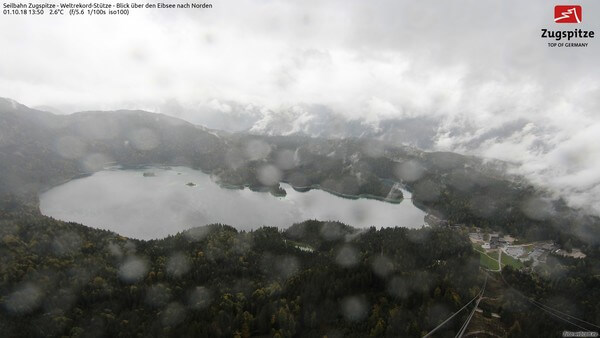 Webcambild vom Eibsee nahe Garmisch-Partenkirchen @ https://www.foto-webcam.eu/webcam/eibsee-nord/