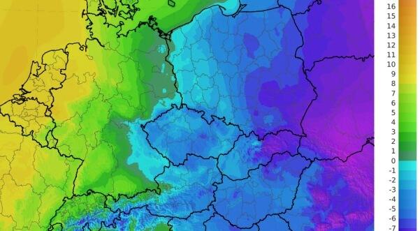 Im Osten gibt es frostige Temperaturen