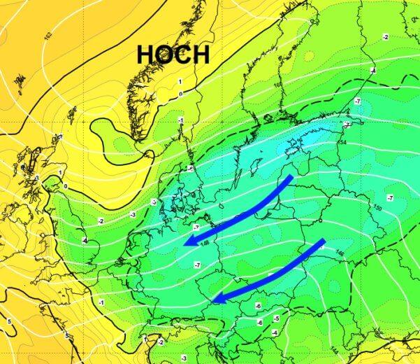 Es wird winterlich in Österreich
