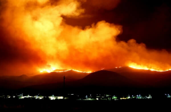 In Kalifornien wüten schwere Waldbrände
