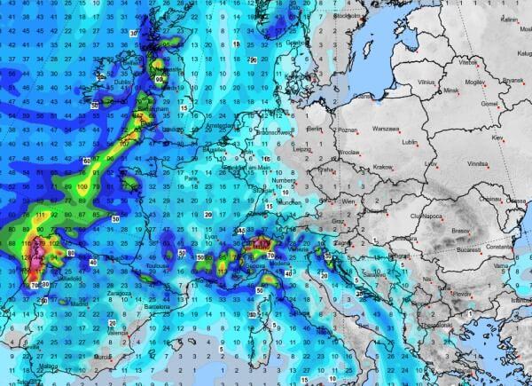 In Osteuropa fällt kein Regen