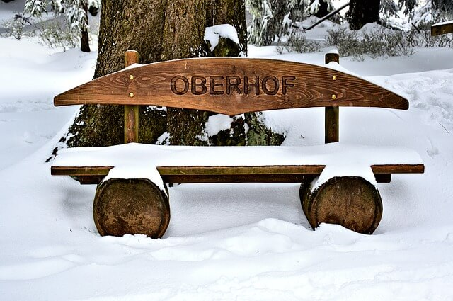 Schnee in Oberhof