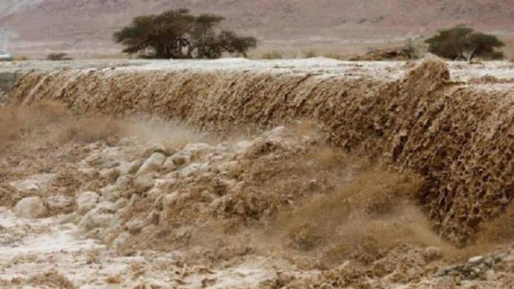 Sturzfluten in Jordanien