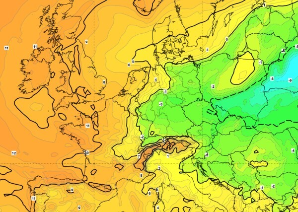 In mittleren Lagen gibt es Dauerfrost