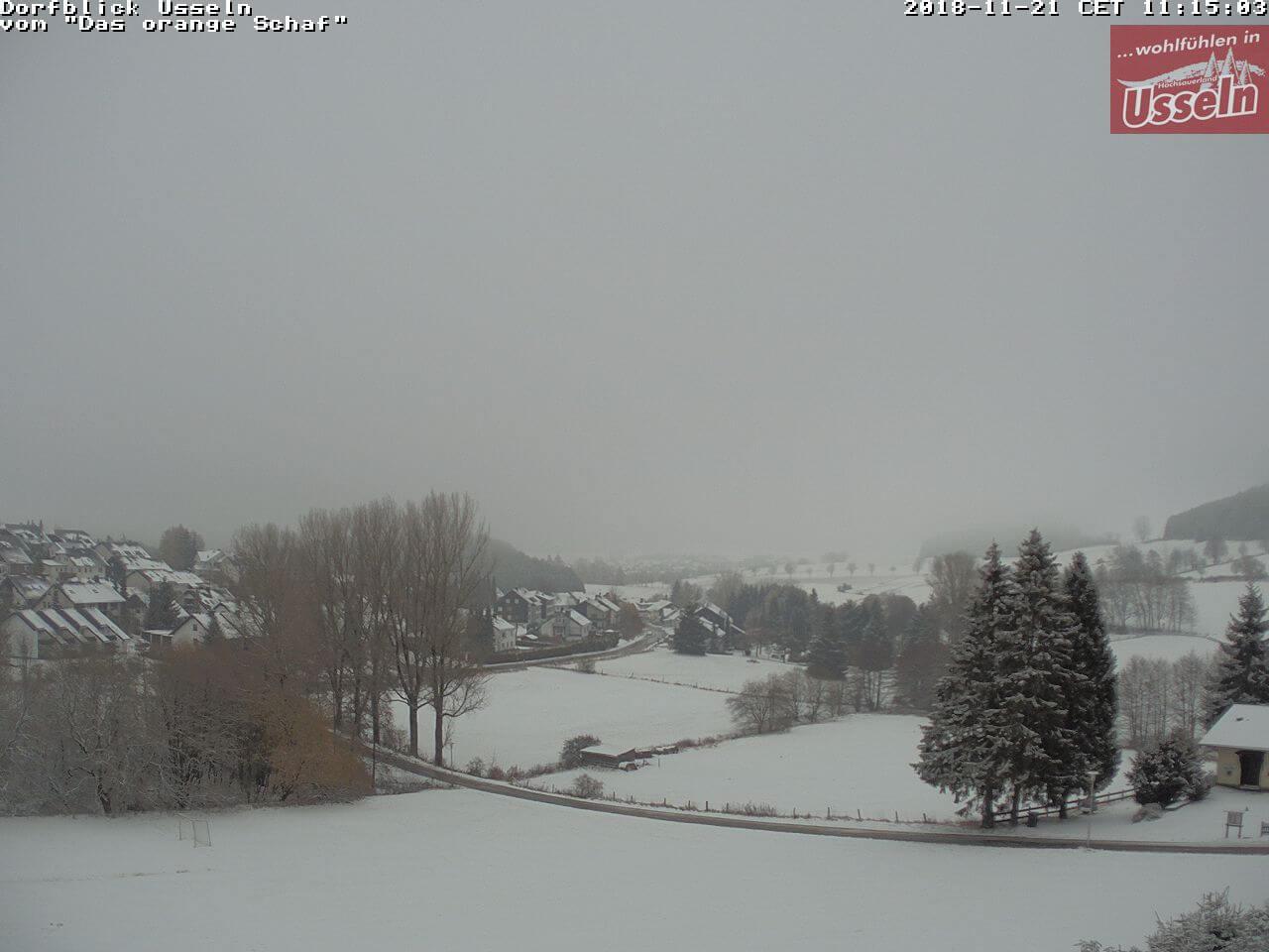 Schnee in Usseln