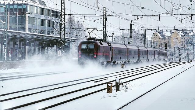 Am Dienstag im Süden und Osten Schnee