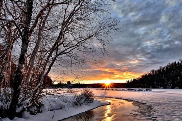 Der früheste Sonnenuntergang des Jahres
