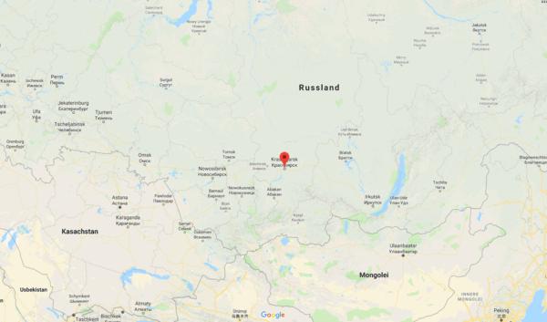 Tief im Osten Russlands liegt Krasnojarsk.