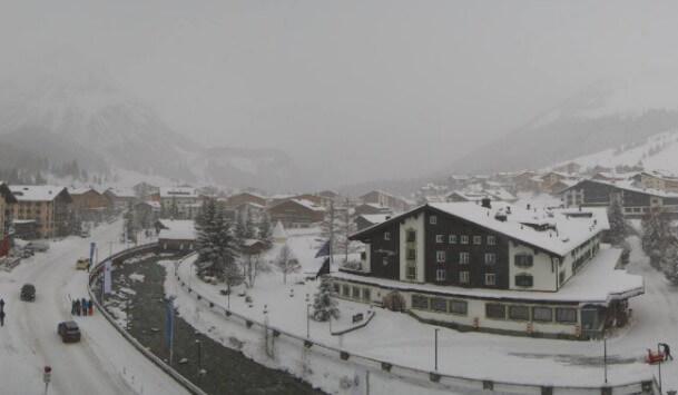 Im Arlberg gab es teils mehr als 50 cm Neuschnee