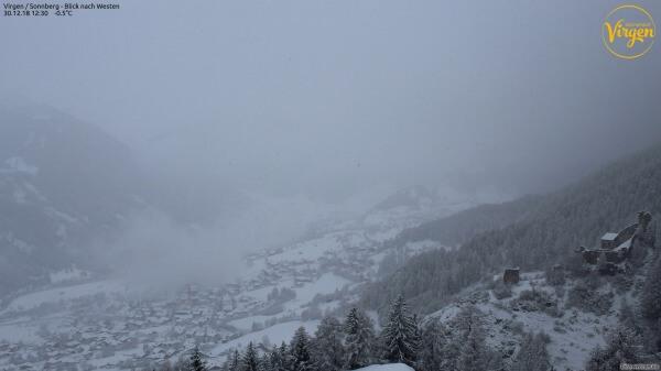 Neuschnee auch im nördlichen Osttirol