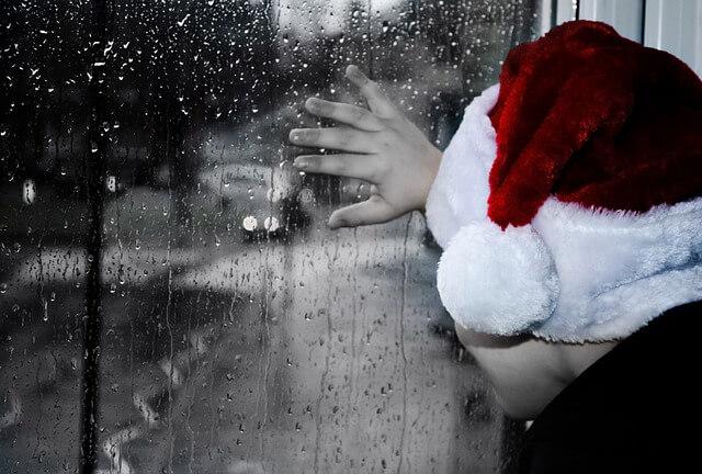 Regnerische Weihnachten