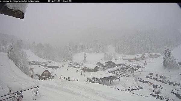 Schnee im Ausseerland. © Hagan Lodge