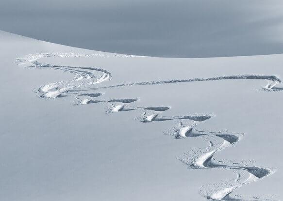 In den Alpen gab es viel Neuschnee