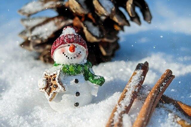 Der Traum vieler Menschen: Weihnachten mit Schnee.