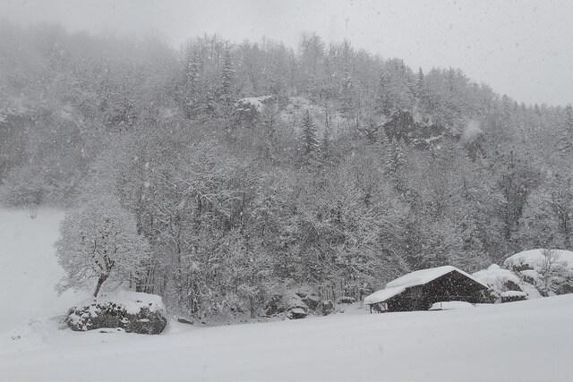 Mehr Schnee für die Nordalpen