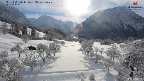 Schneemassen in Oberstdorf