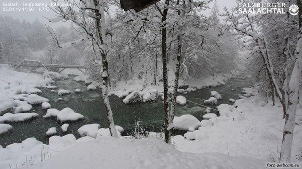 Viel Schnee im Loferer Land