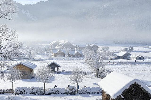 Winter in den Alpen - pixabay.com / SatyaPrem