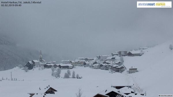 Viel Neuschnee in Südtirol.