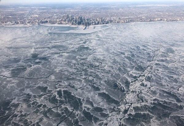 Extreme Kältewelle im Norden der USA