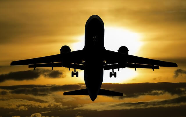 Flugzeuge nützen Jetstream