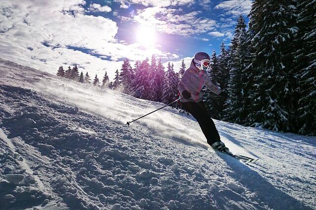 Gute Schneelage in den Alpen in den Semesterferien