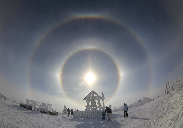 Halos: Faszinierende optische Erscheinungen
