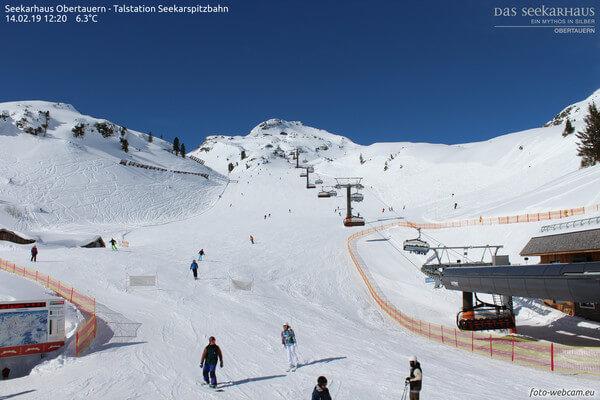 Perfektes Skiwetter am Wochenende