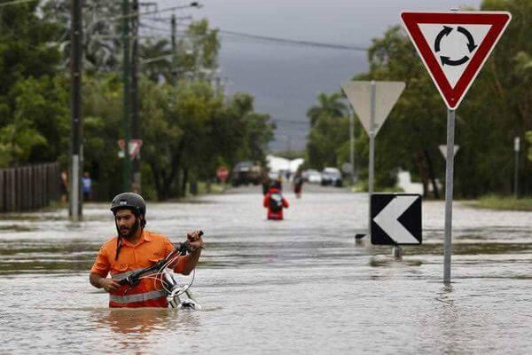 Flut in Townsville