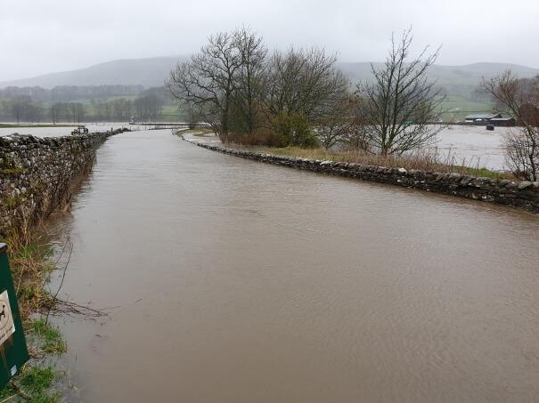 Überschwemmung. Andy Worboys FB