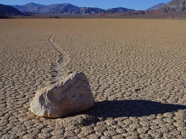 So sieht das Death Valley normalerweise aus.