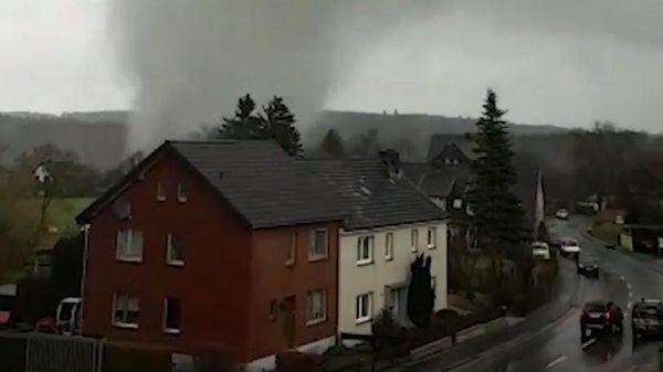 Tornado in Roetgen