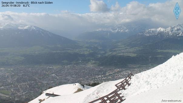 Föhnmauer bei Innsbruck. © www.foto-webcam.eu