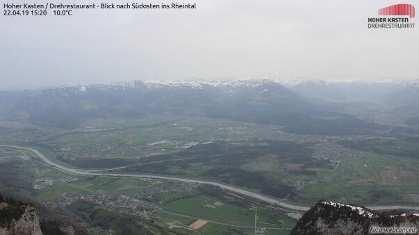 Saharastaub sorgt für diesige Verhältnisse in Vorarlberg