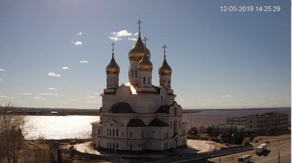 Sommer im hohen Norden Russlands.