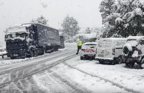 Schnee im Mai auf Korsika