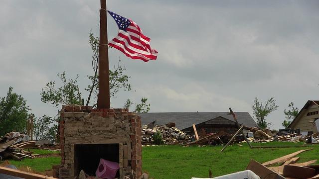 Tornado in den USA (Symbolfoto)
