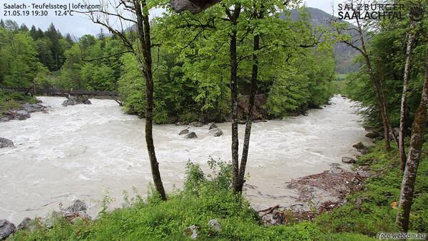 Starkregen: Über 200 l/m² in Vorarlberg