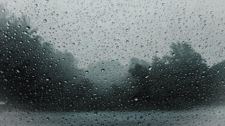 Am Montag bewölkt mit kräftigem Regen im Westen